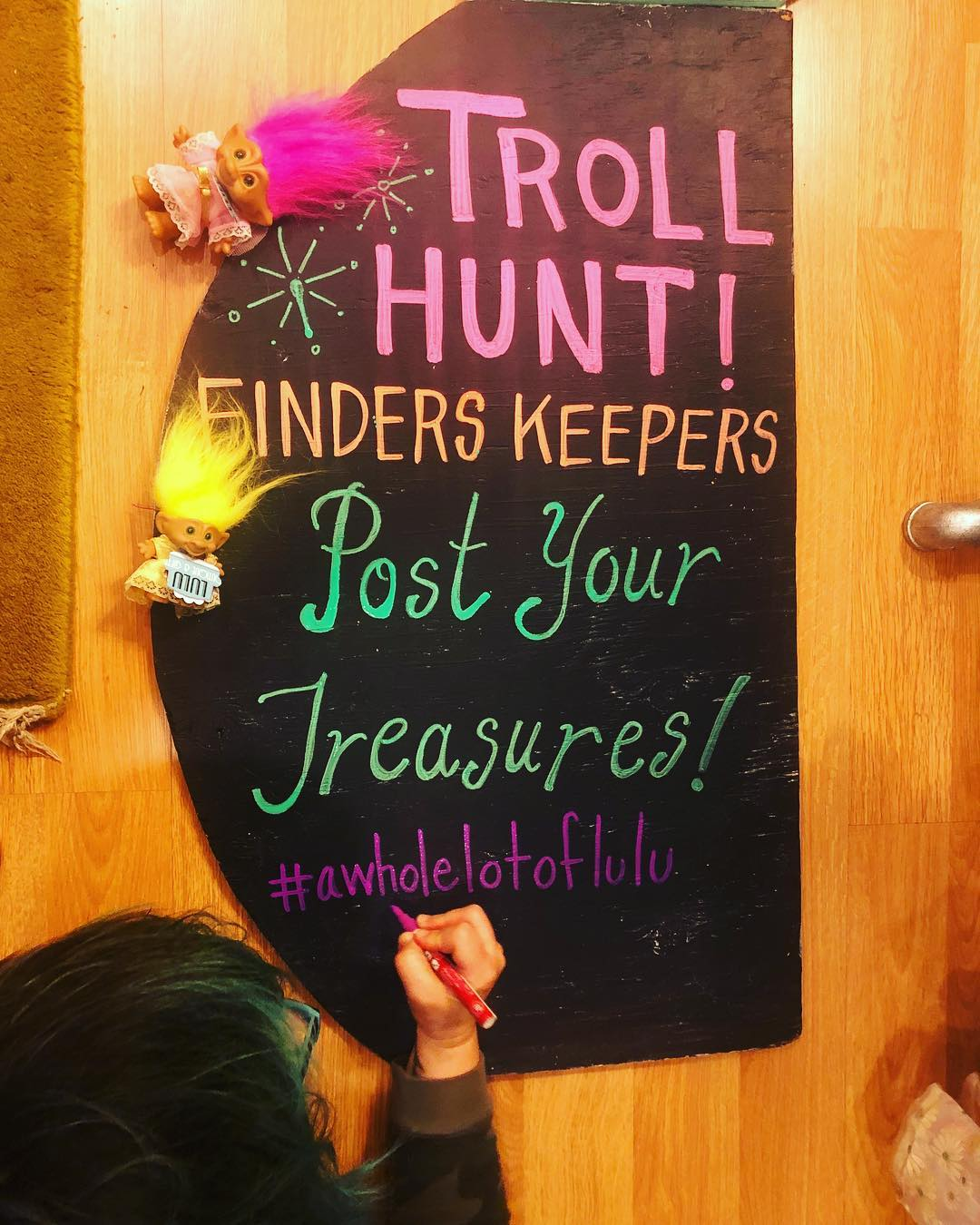 Troll Hunting at the Lulu Festival #FindersKeepers
