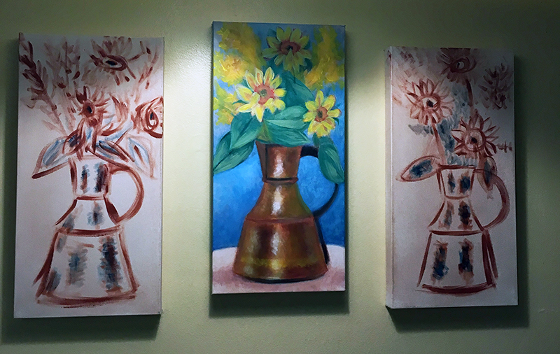 Painting of Copper Pitcher
