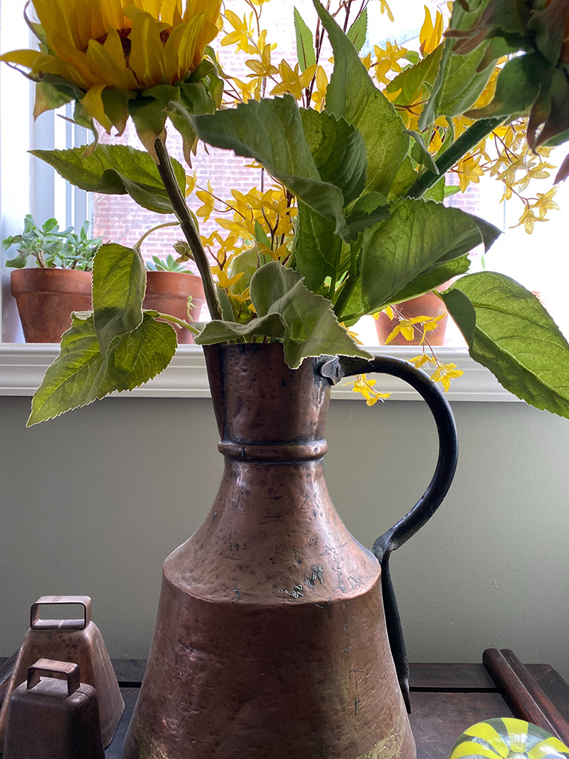 Copper Pitcher from LuLu Festival