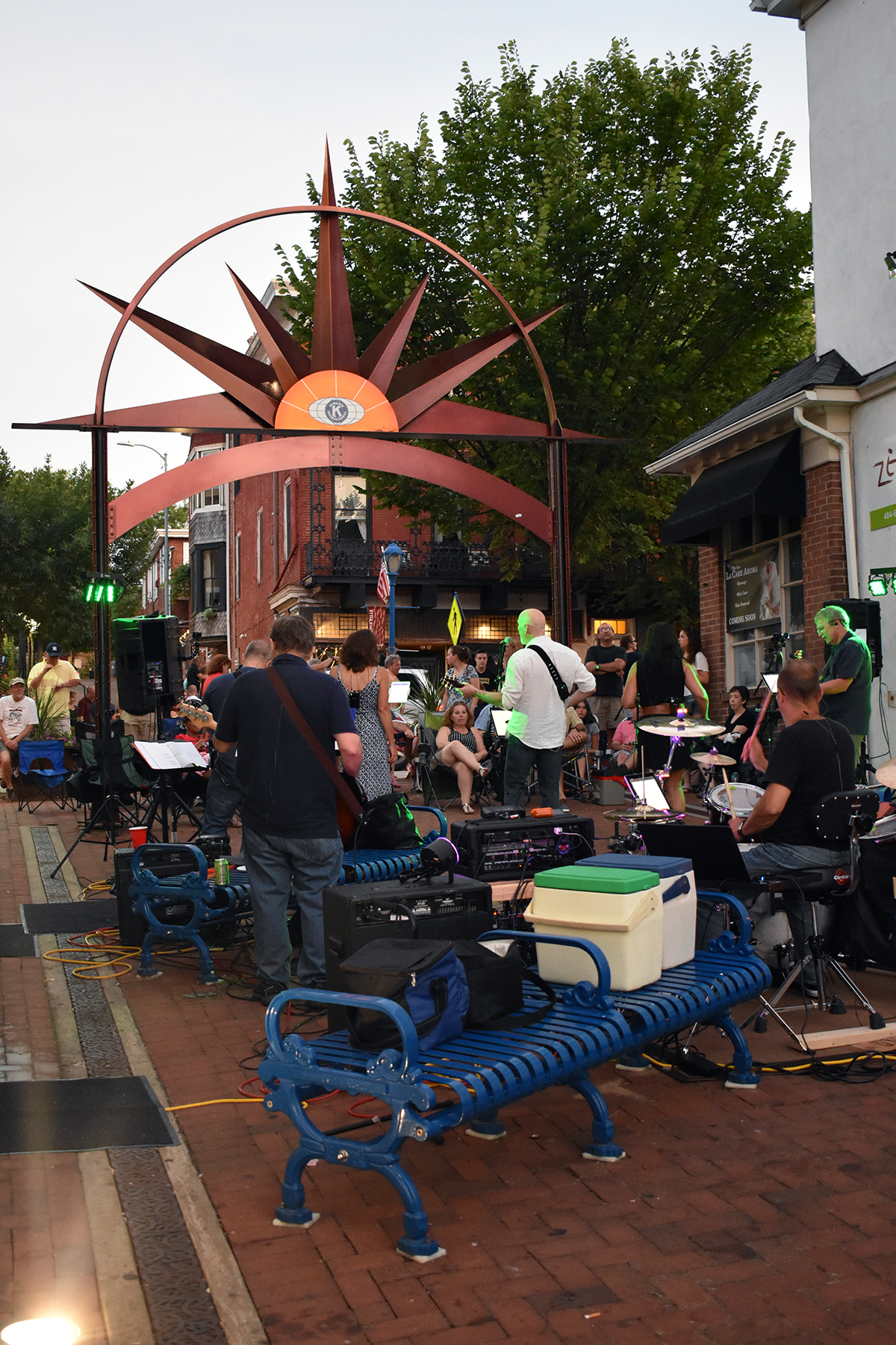 Five Minute Major at a Summer Music Series in Phoenixville