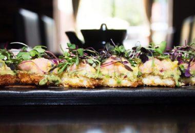 Crispy Bluefin Toro Appetizer via Chikara Sushi Facebook page.