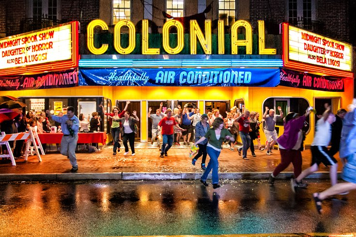 Phoenixville Blobfest Colonial Theatre Run Out
