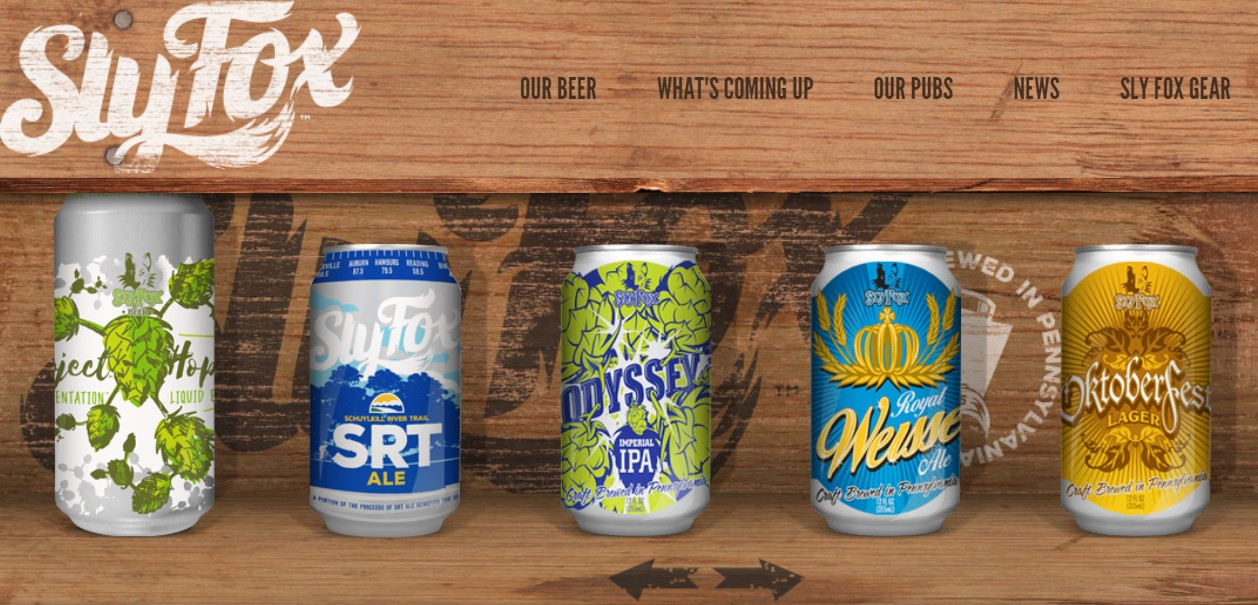 Sly Fox Craft Beer