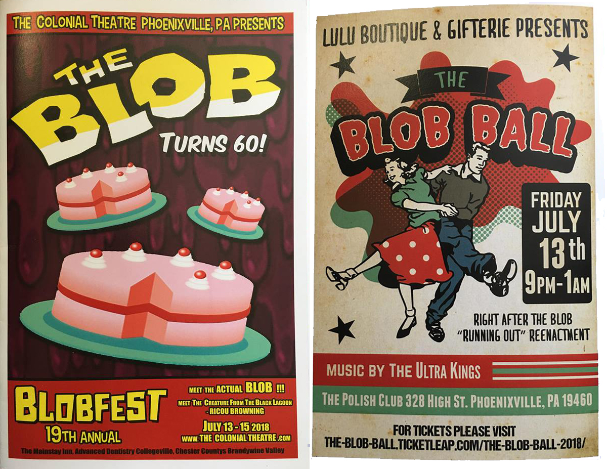 The Blob turned 60 and Phoenixville had a party!