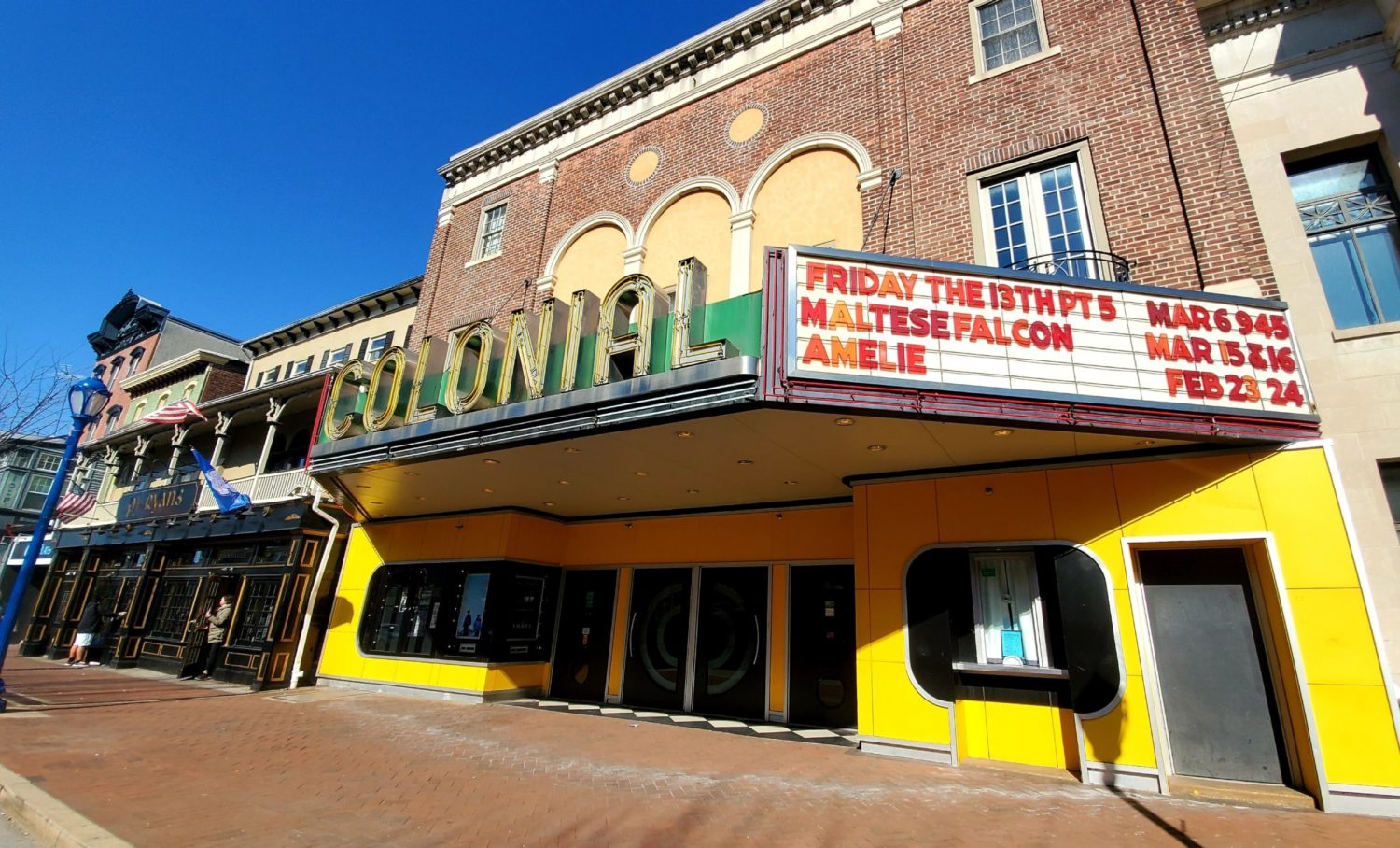 The Colonial Theatre film screening of Poured in PA